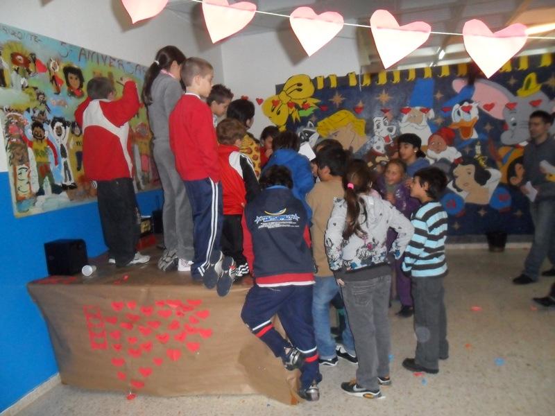 Fiesta de San Valentín en el CIS de La Patera