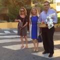 La Alcaldesa almuerza con los usuarios en la Vivienda Tutelada de Horizonte
