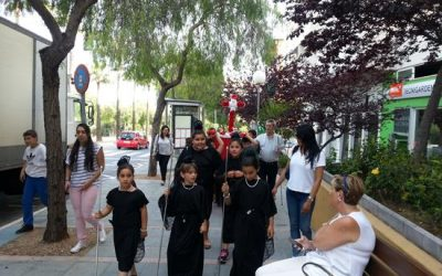 Cruz de mayo en el CIS de La Patera