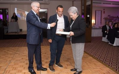 Horizonte homenajea a Javier Mérida en su Cena Benéfica Anual