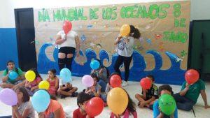 Responsabilidad, compromiso y respeto. Día Mundial de los Océanos en el CIS La Patera
