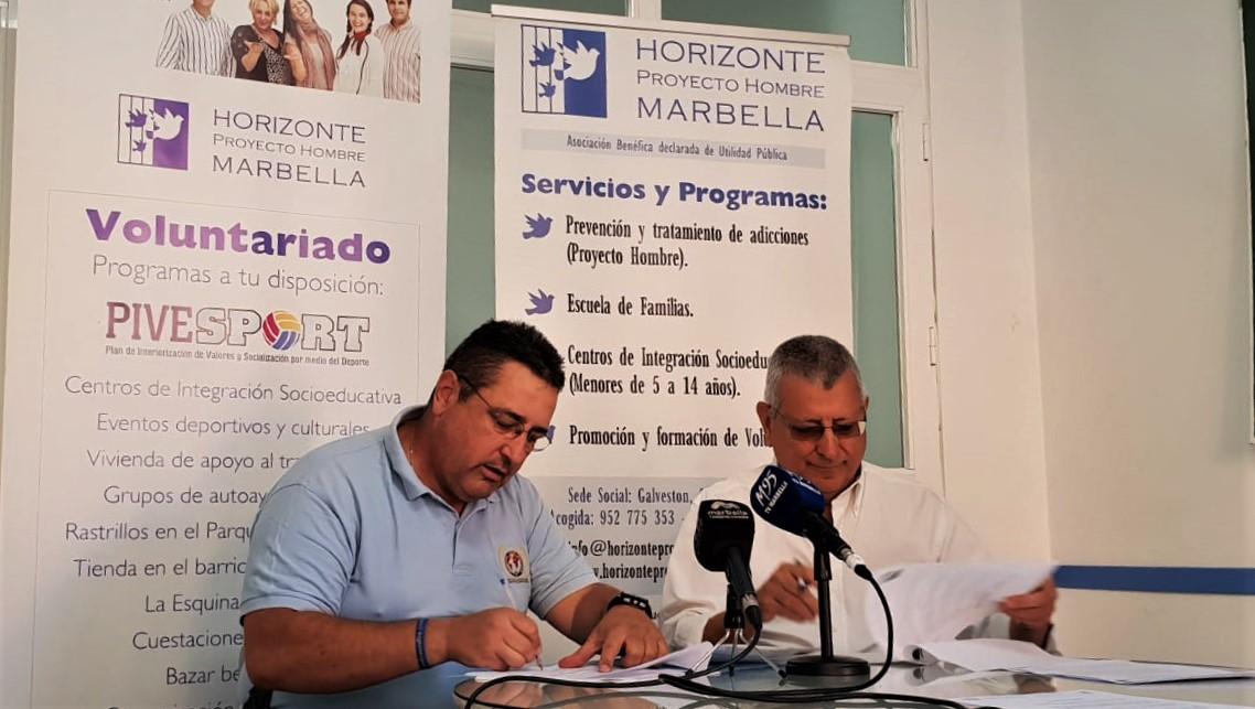 CONVENIO DE COLABORACIÓN ENTRE LA IPA Y LA ASOCIACIÓN HORIZONTE