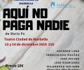 """Obra de teatro """"Aquí no paga nadie"""" a beneficio de Horizonte Marbella"""